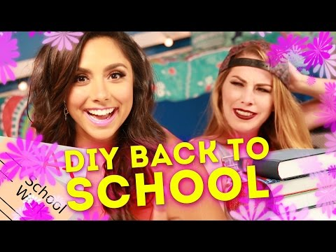 3 Easy Back To School DIY Hacks (PARODY)
