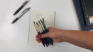 Non-smearing Left Handed Pens for Int'l Left Handers Day!