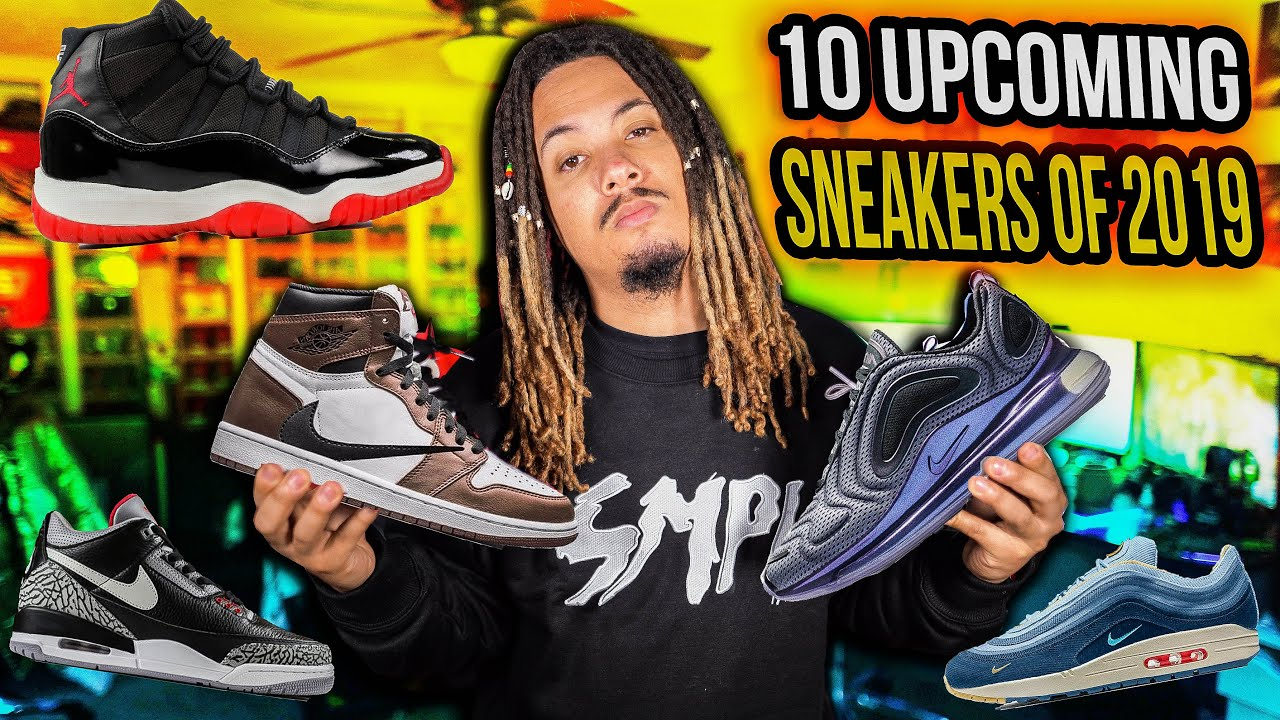 MOST ANTICIPATED SNEAKER RELEASES