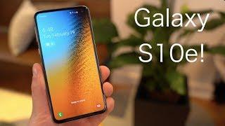 Samsung Galaxy S10e Hands On!