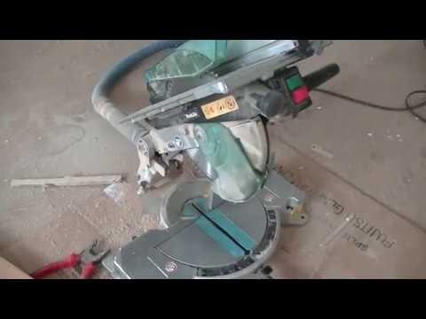 Обзор торцовочной комбинированной пилы Зубр ЗПТК-255-1800 - YouTube