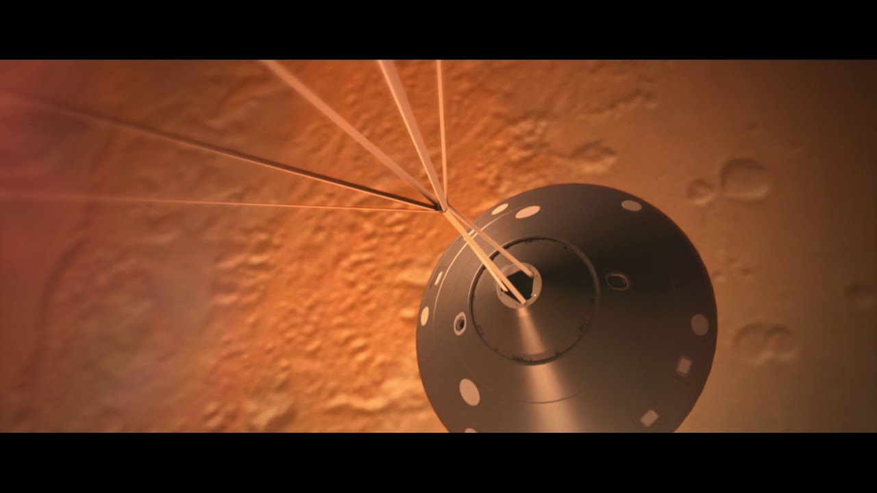 mars insight landing tv - photo #25
