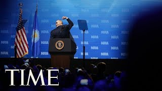 'Your Second Amendment Rights Are Under Siege' Donald Trump Addresses The NRA | TIME