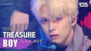 Download lagu TREASURE(트레저) - BOY @인기가요 inkigayo 20200809