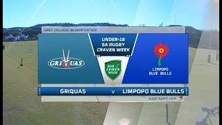 Craven Week | Griquas vs Limpopo Blue Bulls