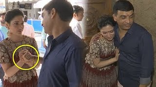 Tamannaah And Dil Raju Closeness At Raju Gari Gadi 3 Movie Launch | Omkar | News Qube
