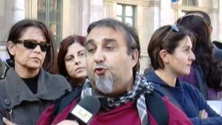 Ancora protesta degli ex lavoratori Elco - 9Dicembre11.mpg