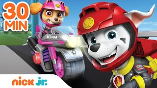 PAW Patrol Moto Pups & More! 30 MINUTE MARATHON | Nick Jr.