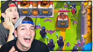 2v2 MASS NIGHT WITCHES - Clash Royale