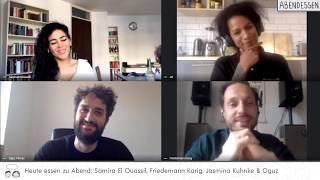 Heute zu gast bei abendessen: friedemann karig, samira el ouassil, jasmina kuhnke und oguzsamira ouassil https://www.instagram.com/samelou/friedemann kari...