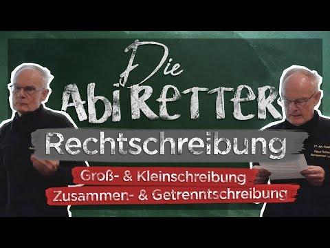 Deutsche Rechtschreibung: Groß- & Kleinschreibung / Getrennt- & Zusammenschreibung + Übungsdiktat