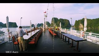 [BEHIND THE SCENES] A busy day on The Au Co Luxury Cruise
