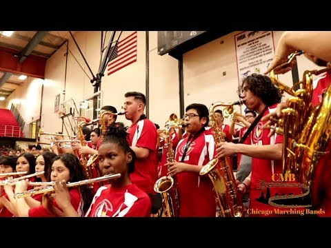 Curie Marching Band 2018 - Rockstar by Post Malone