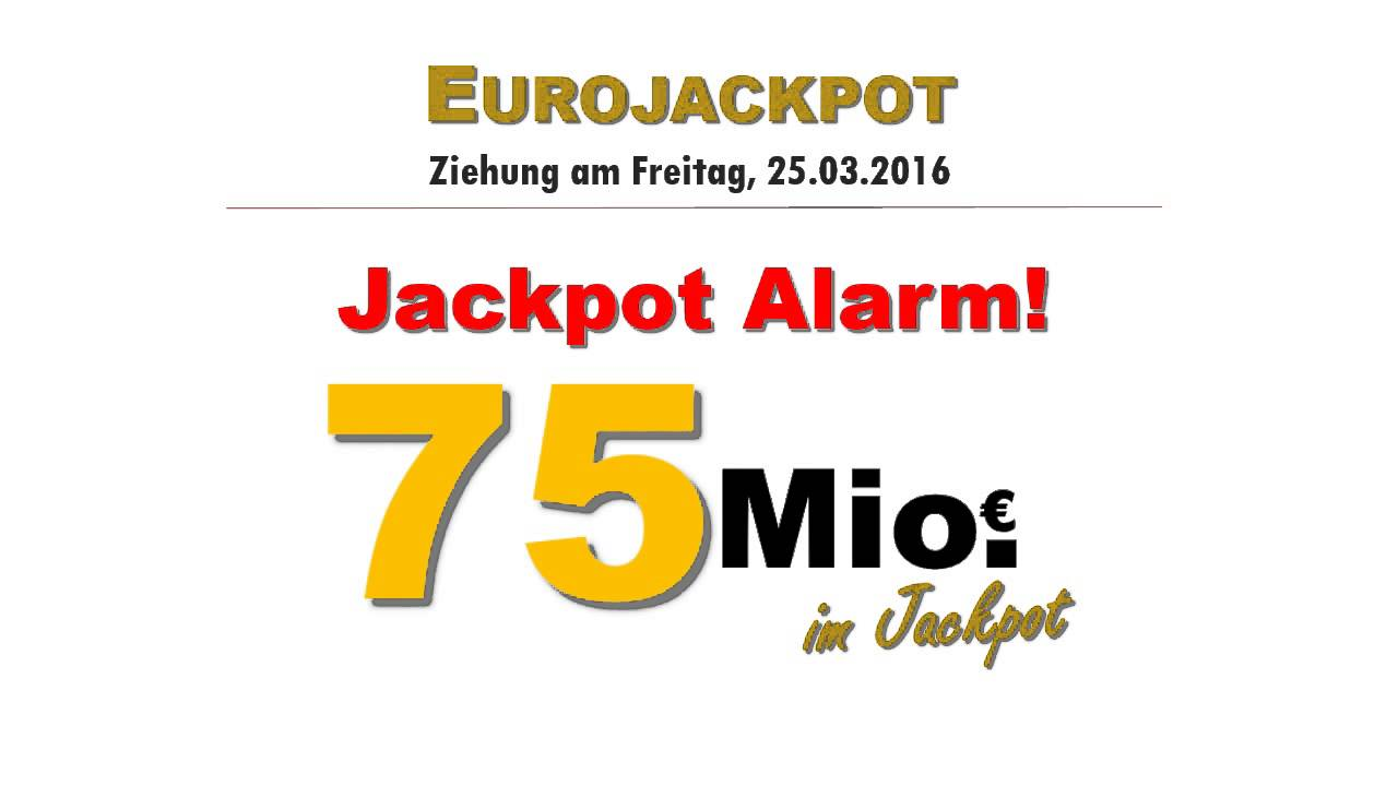 Euro Jackpott Ziehung