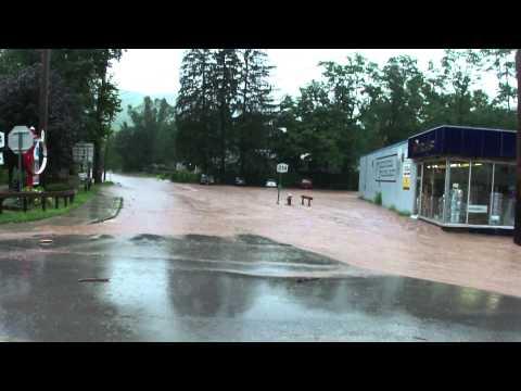 Hurricane Irene's wrath on Phoencia - Part 1