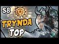 TRYNDAMERE S8 TOP | EL REY DEL SPLITPUSH | (MEJORES RUNAS Y BUILD) | LoL Gameplay - No Guía