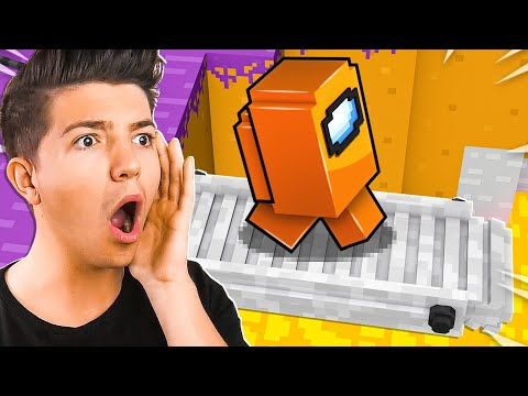 Minecraft Among Us NEW Map Update! *wife sus*