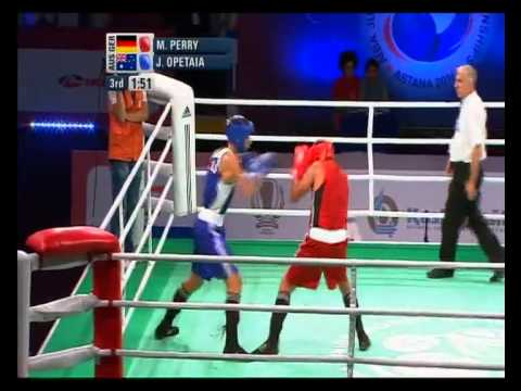 Light Heavyweight Finals (80kg) - AIBA Junior World Boxing Championships 2011