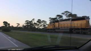 FEC Train 222-21 May 2010