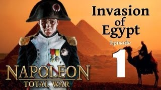 Napoleon Total War - Invasion of Egypt Part 1: Dromadaries and Pyramids.