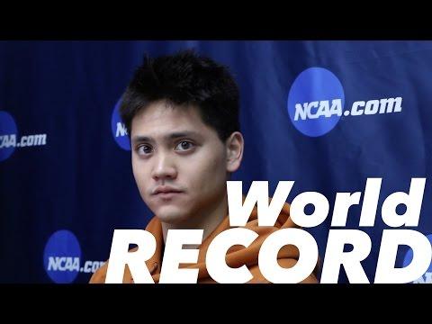 Joseph Schooling Wants To Break Michael Phelps's World Record