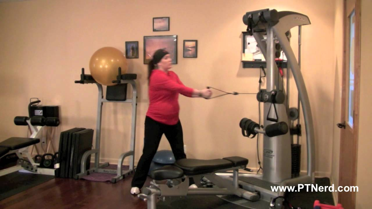 side to side exercise machine