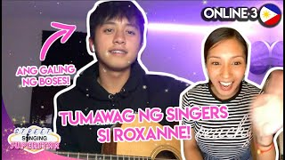 Can FILIPINOS sing? w/ ROXANNE BARCELO | Online 3