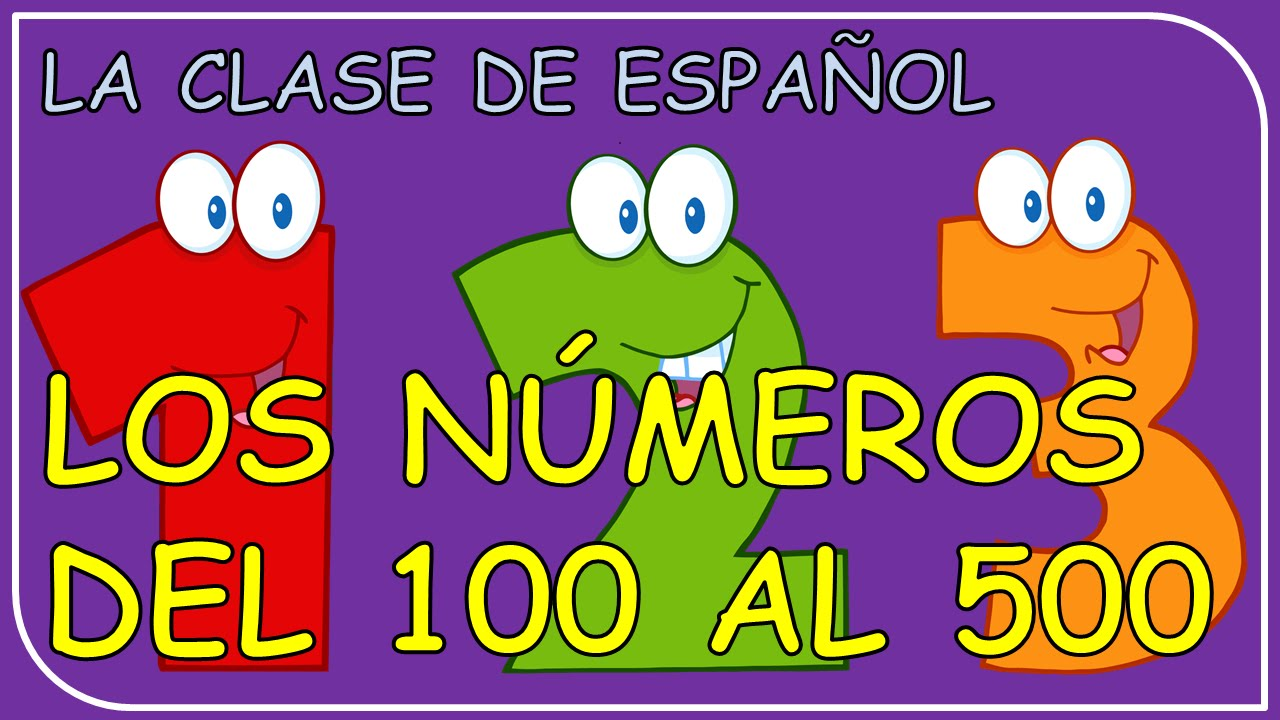 how to say 500 in spanish