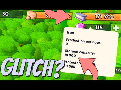 Boom Beach Storages Broken!? 25,000 Diamond Account! PLUS Trader Gameplay