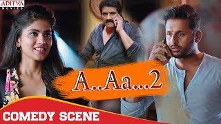 Comedy Scene  | A.AA.. 2 (chalmohan Ranga) Hindi Dubbed Movie | Nithiin, Megha Akash.