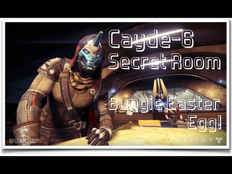 Cayde  Secret Room Destiny