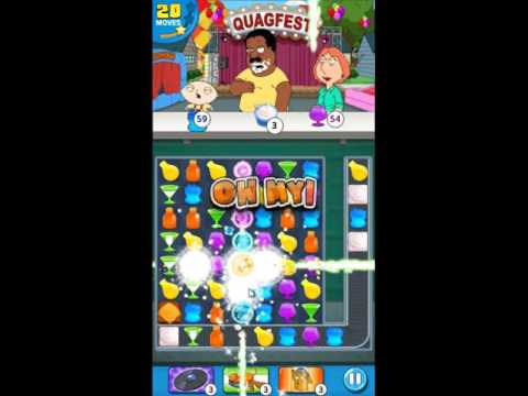 Family Guy Another Freakin Mobile Game Level 163 - NO BOOSTERS