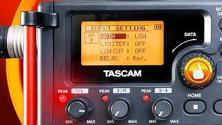 Tascam DR 60D MK2 + Rode NTG3 Interesting Audio TEST - Gain From LOW To HIGH+