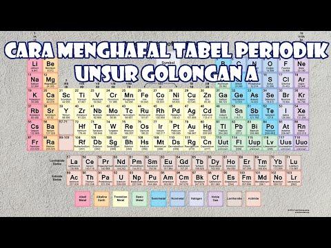 Cara menghafal tabel periodik unsur golongan a youtube cara menghafal tabel periodik unsur golongan a urtaz Gallery