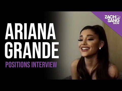 "Ariana Grande ""Positions"" Interview"