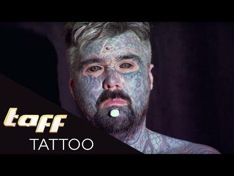 Der MEISSTTÄTOWIERTE Mann Englands | taff Tattoo | ProSieben