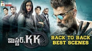 Mr KK 2019 Latest Telugu Movie 4K | Vikram | Back To Back Best Scenes | 2019 Latest Telugu Movies