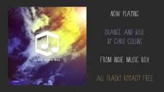 Indie Music Box - Orange + Blue (Royalty Free)