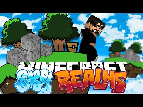 Minecraft: SKYREALMS | OUR NEW ISLAND!! [1]