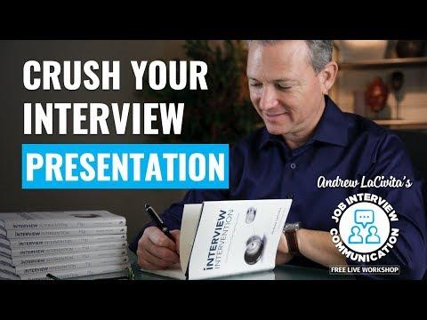 Job Interview Communication Workshop | Session 4 Of 4 | Giving A Presentation!