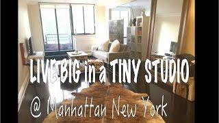 Live BIG in a SMALL studio in Manhattan New York