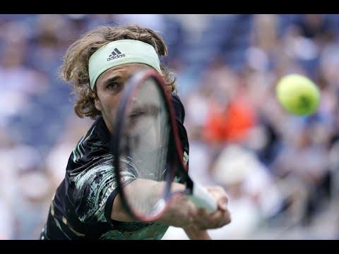 Alexander Zverev Vs. Aljaz Bedene   US Open 2019 R3 Highlights