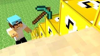 Divulgando Servidores Minecraft #1 : 1.8 Escadona com Lucky block