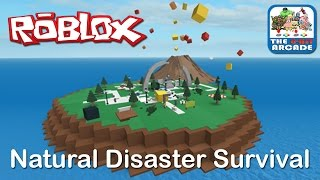 Roblox: Natural Disaster Survival - How Many Disasters Can You Survive (Xbox One Gameplay)
