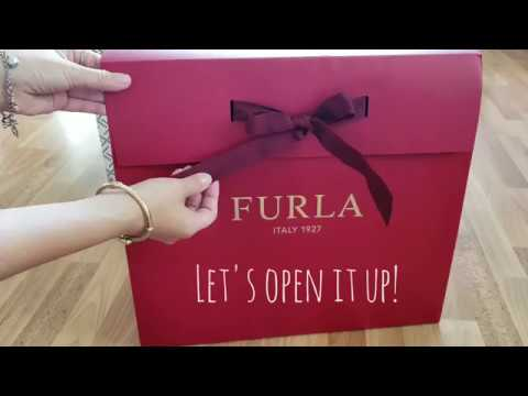 Unboxing| Furla My Piper| Christmas Gift 2018