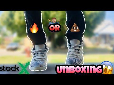 StockX Unboxing... Light Bone 11's On Feet😱