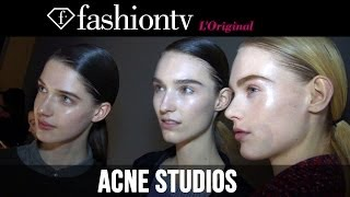 Acne Studios Fall/Winter 2014-15 Backstage | Paris Fashion Week PFW | FashionTV