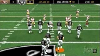 Madden NFL 06 Sony PSP Gameplay - Touchdown!