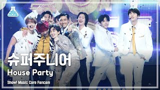 [예능연구소 4K] 슈퍼주니어 직캠 'House Party' (SUPER JUNIOR FanCam) @Show!MusicCore MBC210327방송