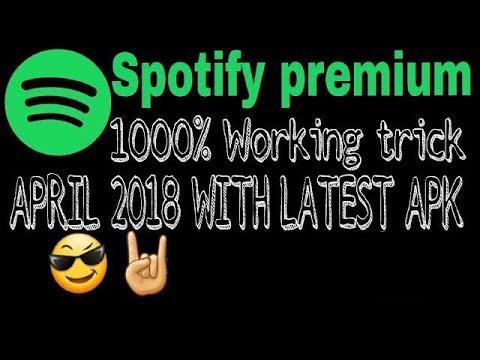 Spotify premium LOGIN FIX (APRIL 2018) new trick